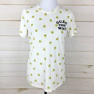 Mighty Fine Guac this way Tee S